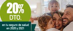 Promoción del 20% en el seguro de salud DKV Profesional